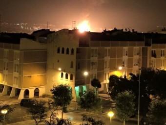 La flama pel trencament de la canonada de gas a Constantí ACN