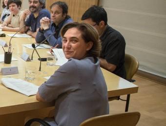 L'alcaldessa Colau, en la primera comissió de govern de la nova legislatura JOSEP LOSADA