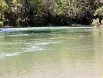 Imatge d'arxiu del riu Segre al seu pas per Camarasa ACN