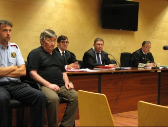 Francisco Javier Molina Guerra durant el judici. ÓSCAR PINILLA