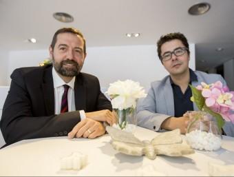 Pep García i Joan Chavarria van cofundar Maxchief Europe el 2008.  ALBERT SALAMÉ