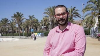 David Bote fotografiat al Passeig Marítim de Mataró, un dels potencials turñistics de la ciutat  A. S