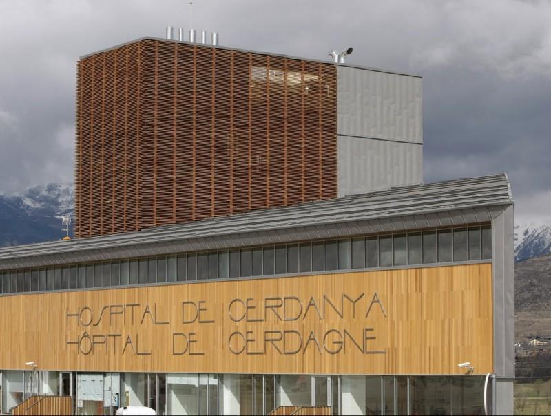 L'Hospital transfronterer de Cerdanya es troba a Puigcerdà. LLUÍS SERRAT