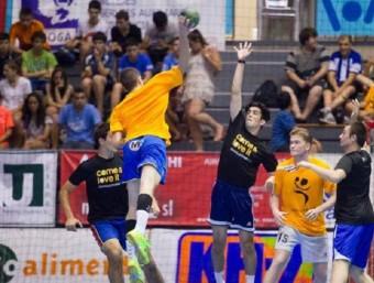 La Granollers Cup ha dut equips de tot el món al Palau d'Esports i a la plaça Porxada de la capital del Vallès Oriental GRANOLLERS CUP