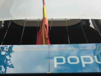 Seu central del PP, al carrer Génova de Madrid EUROPA PRESS