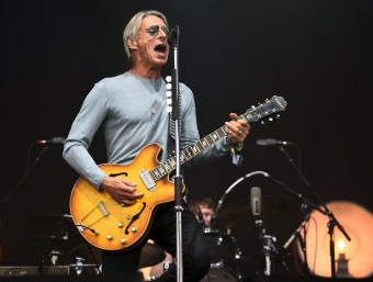 Paul Weller va deixar Pedralbes sense cançons com 'That's entertainment' i 'Town called Malice' REUTERS