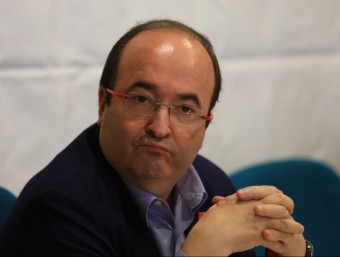Miquel Iceta, líder del PSC, en una imatge d'arxiu