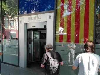 La seu d'UDC a Barcelona EUROPA PRESS