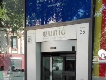 La seu nacional d'Unió a Barcelona EP