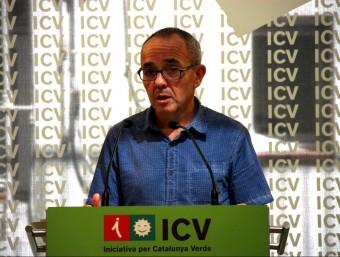 Joan Coscubiela en roda de premsa ACN