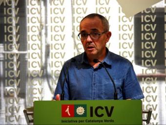 Joan Coscubiela , portaveu ecosocialista al Congrés ACN