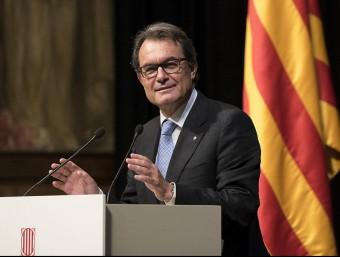 El president de la Generalitat, Artur Mas JOSEP LOSADA