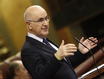 Josep Antoni Duran i Lleida en una intervenció al Congrés dels Diputats ACN