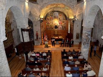 La presentació de l'Institut d'Estudis Aranesi s'ha fet a Santa Maria d'Arties, a la Val d'Aran MARTA LLUVICH