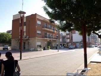 Edifici de l'Ajuntament d'Almussafes. ESCORCOLL
