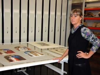 Montse Macià ha dirigit el Museu de Lleida durant disset anys. J.T