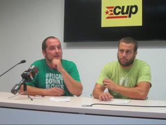 Fernández i Generó , ahir, en la compareixença davant dels periodistes. EUROPA PRESS