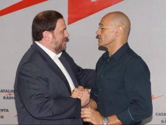Oriol Junqueras i Raül Romeva han coincidit a Catalunya Ràdio CATALUNYA RÀDIO