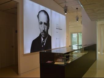 Sala de recepció de l'Espai Museístic Rosa Peroy