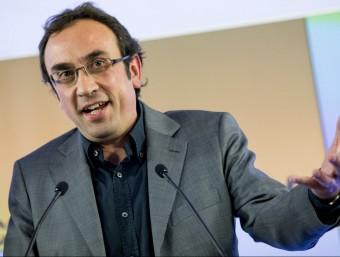 El coordinador general de CDC, Josep Rull ALBERT SALAMÉ