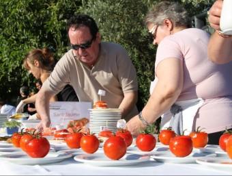 Les jornades tenen com a protagonista el tomàquet , concretament les varietats més conegudes del Maresme, la pometa i la Montserrat. G. ARIÑO