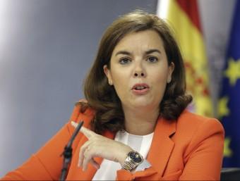 La vicepresidenta espanyola, Soraya Sáenz de Santamaría EFE