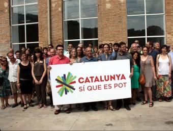 Avui s'ha presentat Catalunya Sí que es Pot ACN