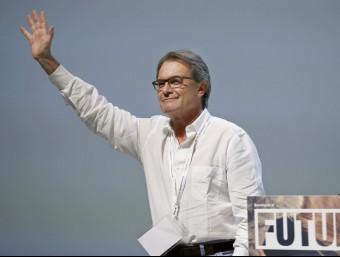 Artur Mas durant el seu discurs durant la convenció nacional de CDC EFE