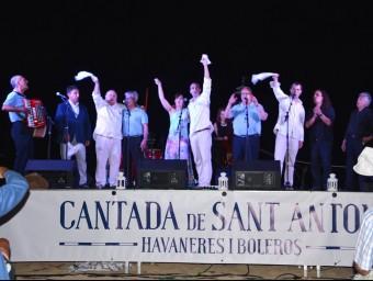 La cantada d'havaneres i boleros de Sant Antoni EPA