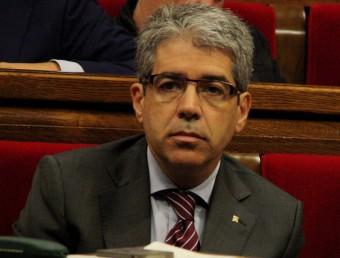 El conseller de la Presidència, Francesc Homs, aquest dimecres al ple del Parlament ACN