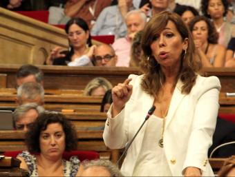 Alícia Sánchez-Camacho (PPC), al Parlament durant la sessió de control ACN