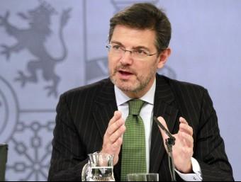 El ministre de Justícia, Rafael Catalá ACN