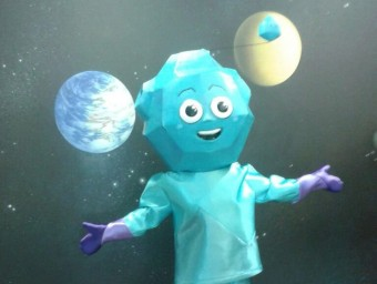 Bòlid és la nova mascota del Centre d'Observació de l'Univers d'Àger. ACN