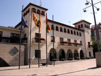 Façana de l'Ajuntament de Barberà del Vallès ACN