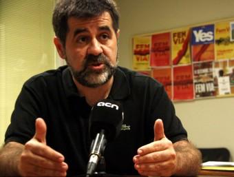 Jordi Sánchez, president de l'Assemblea Nacional Catalana ACN