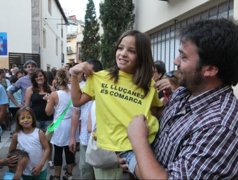 A Prats de Lluçanès la participació va ser constant durant tota la jornada JORDI PUIG