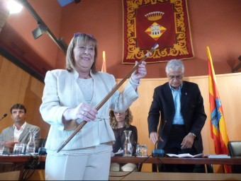 L'alcaldessa de Castelló d'Empúries, Assumpció Brossa, que ha donat suport a JxSí E.C