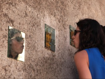 Un dels muntatges que el visitant podia descobrir en l'edició passada, el 2013 JOAN SABATER