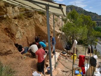 L'última excavació de la Cansaladeta es fa fer durant la passada primavera JMV / IPHES