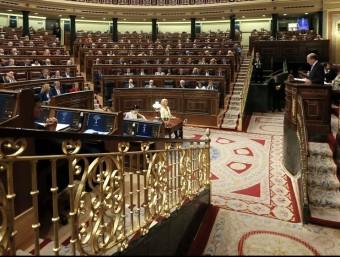 Vista general del ple del Congrés dels Diputats, que aquest dimarts ha ratificat el recat grec EFE