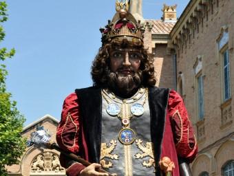 El gegant Pere el Gran. CEDIDES