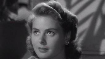 L'actriu sueca en un dels seus papers llegendaris, Ilsa Lund, a 'Casablanca' (1942) ARXIU