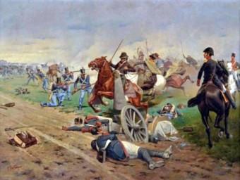 La batalla de Tucumán, retratada pel pintor Francesc Fortuny EL PUNT AVUI