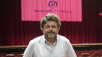 Antoni Castellà, el dia que es va presentar Demòcrates J. LOSADA /ARXIU