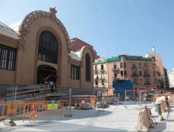 El Mercat Central de Tarragona, en obres des de fa nou anys, rebrà mig milió d'euros del govern de l'Estat j.f.