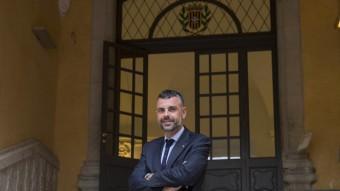 Santi Vila , a la seu de la Generalitat a Girona JOAN CASTRO / ICONNA