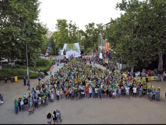 Lleida va acollir el 25 de juliol l'acte dedicat a la diversitat, un dels que va reunir col·lectius més variats, que també va tenir un assaig del punter EL PUNT AVUI