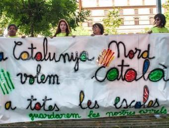 La reivindicació per fer entrar el català a totes les escoles de la Catalunya Nord aconsegueix noves fites cada any ARRELS