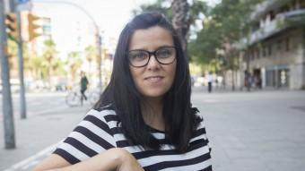 Isabel Vallet, fins ara diputada de la CUP al Parlament ALBERT SALAMÉ