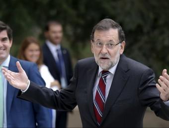 Mariano Rajoy, a la Moncloa REUTERS